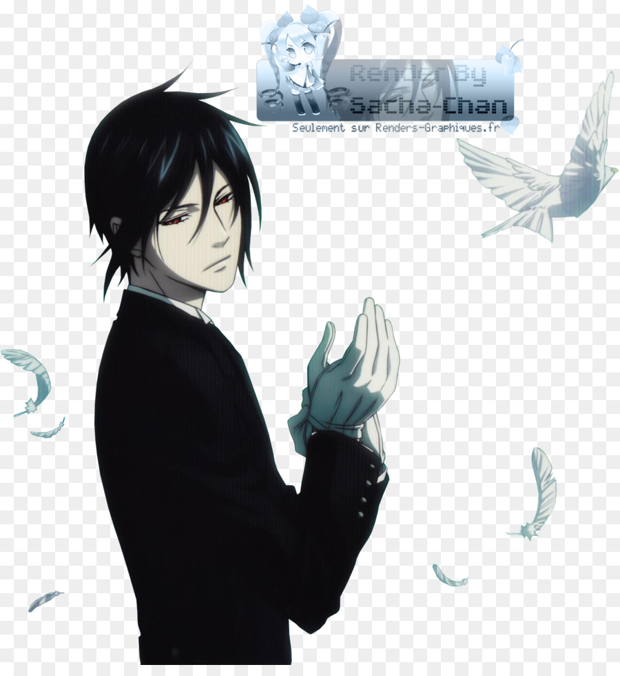 Sebastian Michaelis Ciel Phantomhive Black Butler Wallpaper