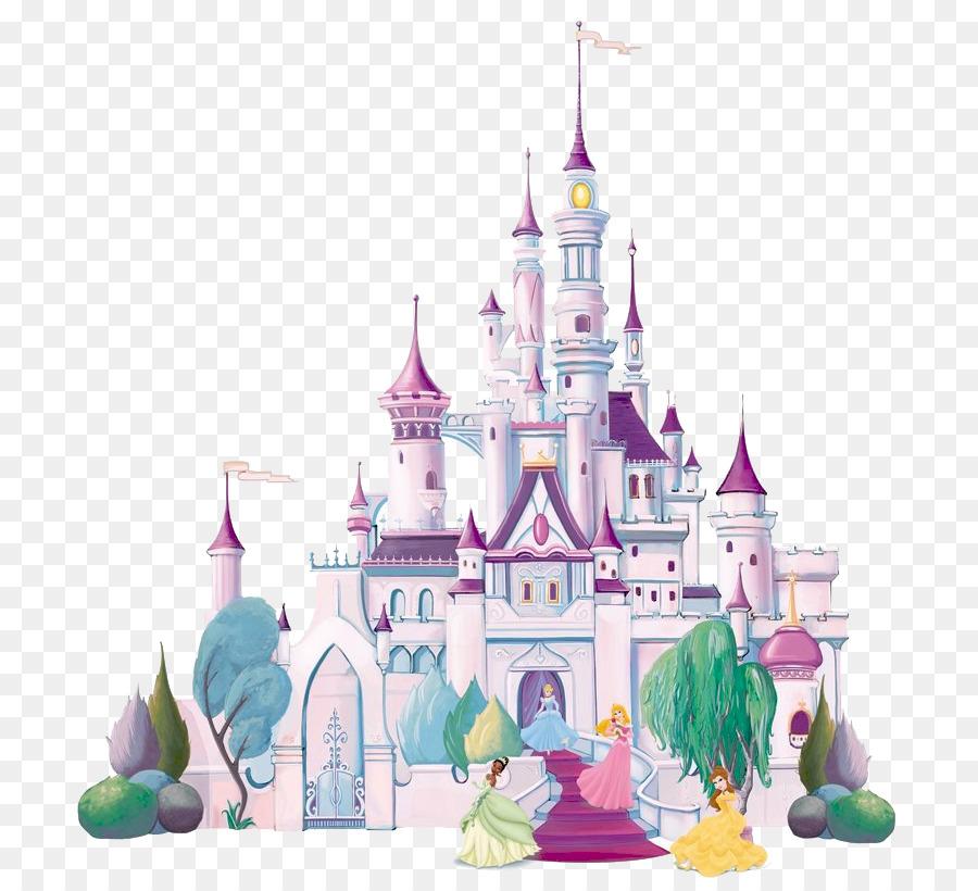 Disney Princess Castle Mural