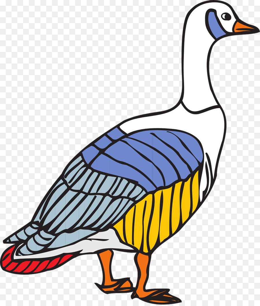 Ganso de libro para Colorear, Dibujo Canadá - ganso Formatos De ...
