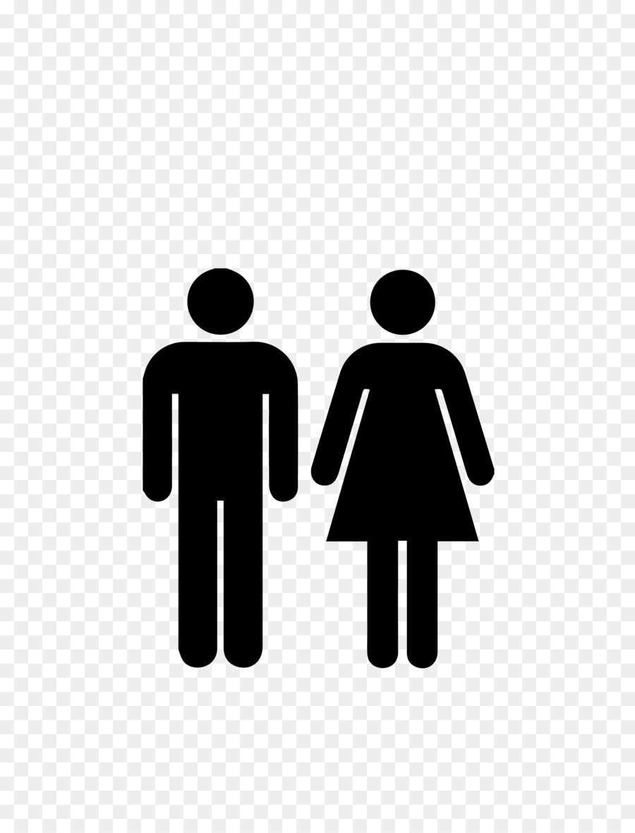 Unisex Public Toilet Bathroom Sign Wc Png Download - Unisex bathroom sign