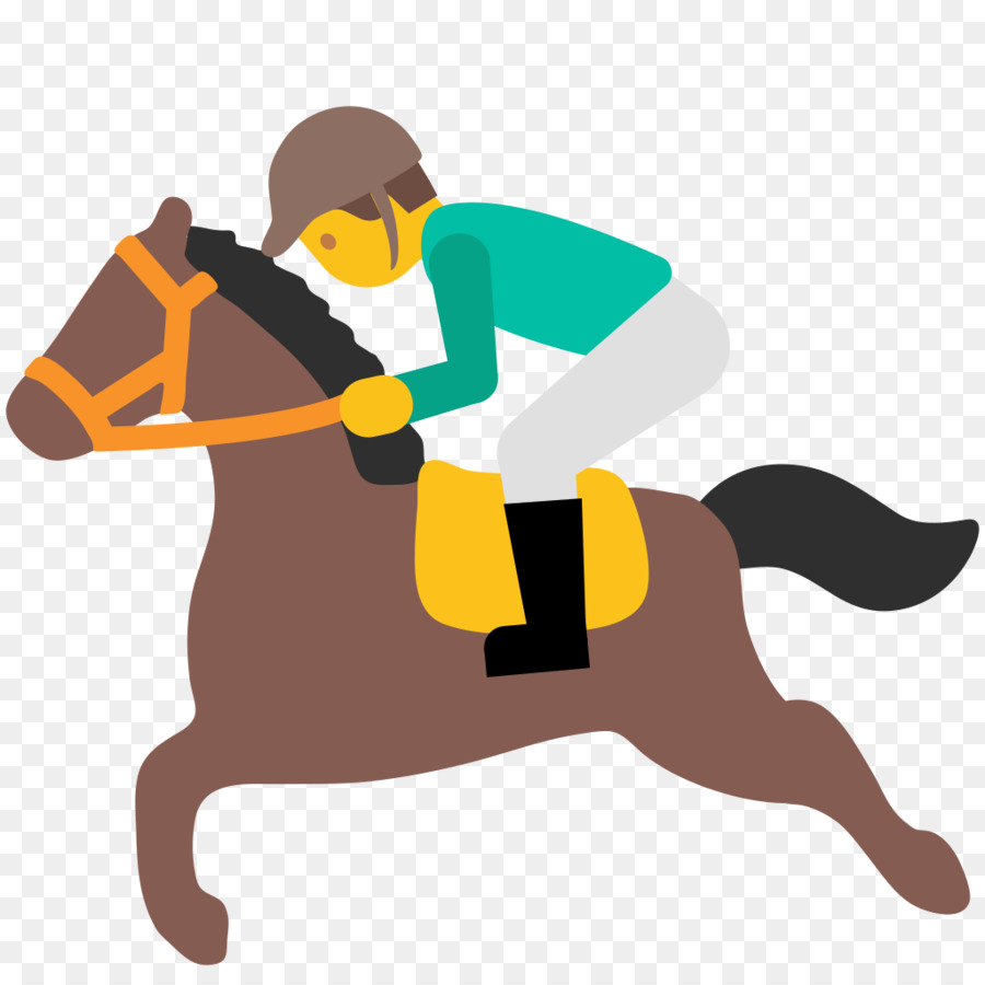 Horse Racing Emoji Sport Jockey