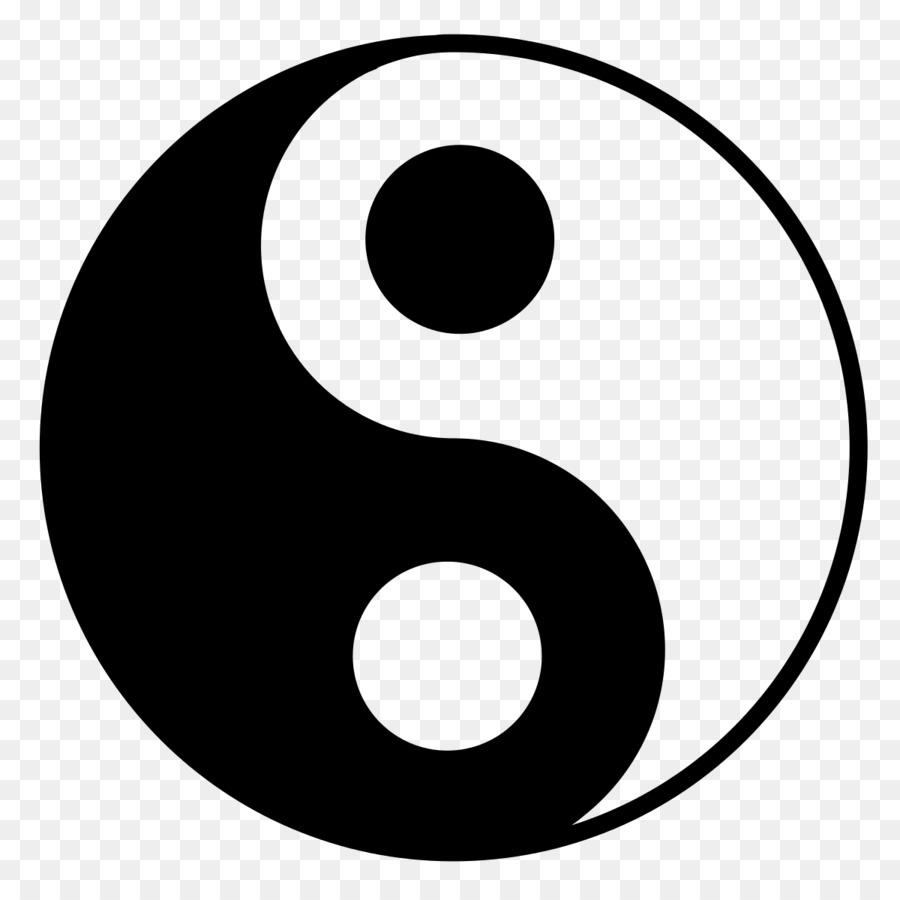Yin And Yang Information Taiji Logic Tai Chi Yin Yang Png Download