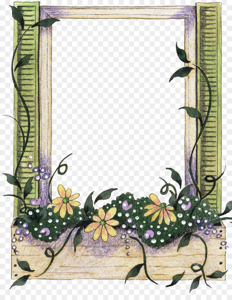 Mother\'s Day Picture Frames Post Cards - decorative frame png ...