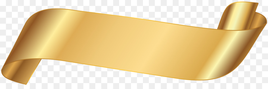 paper banner clip art gold ribbon png download 8000 2576 free