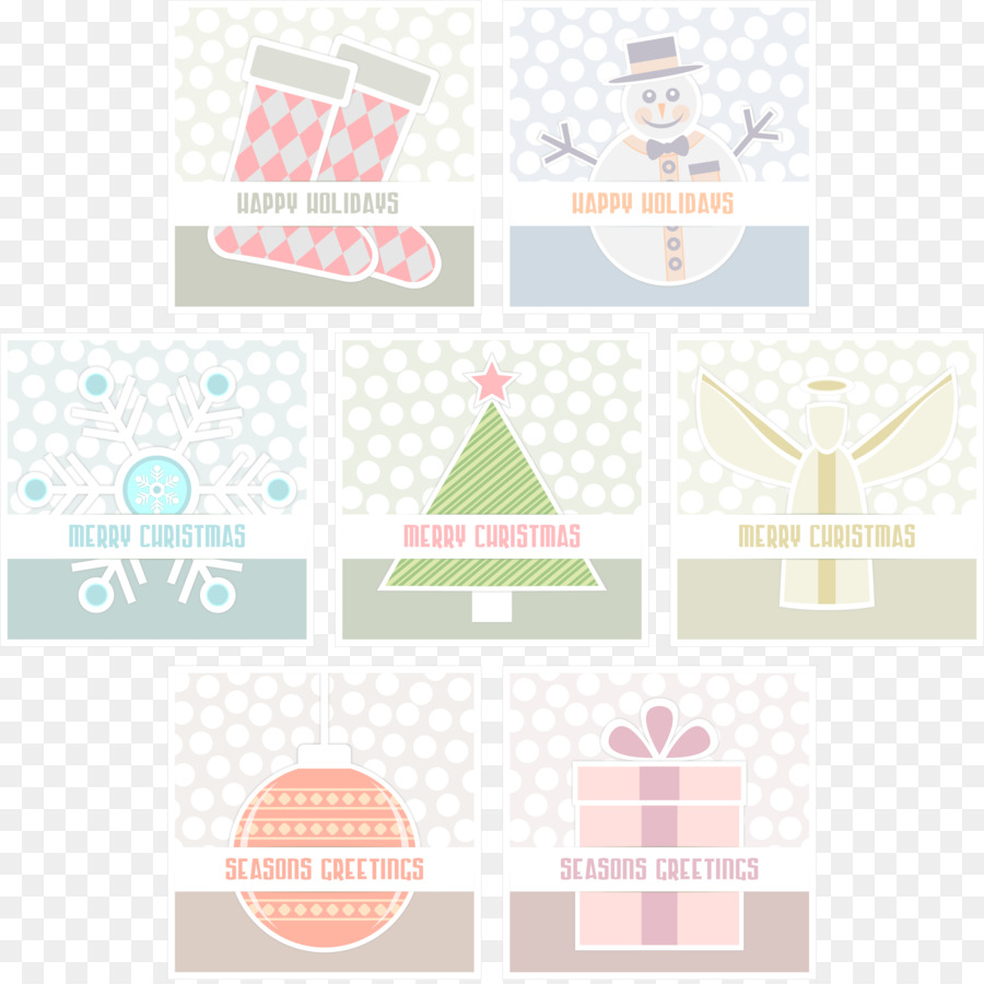 Christmas Card Greeting Note Cards Christmas Tree Seasons Png