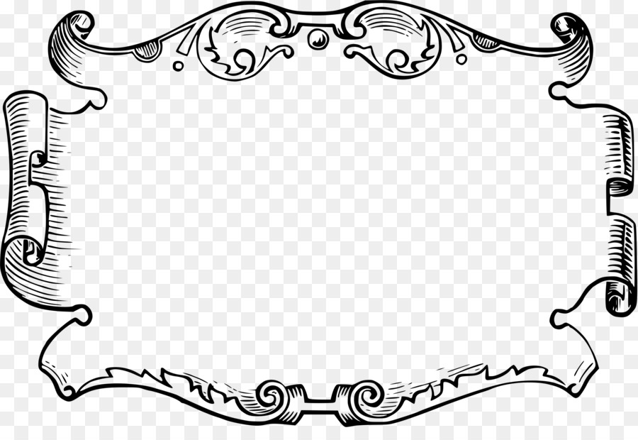 Picture Frames Clip art - ornate png download - 2400*1606 - Free ...
