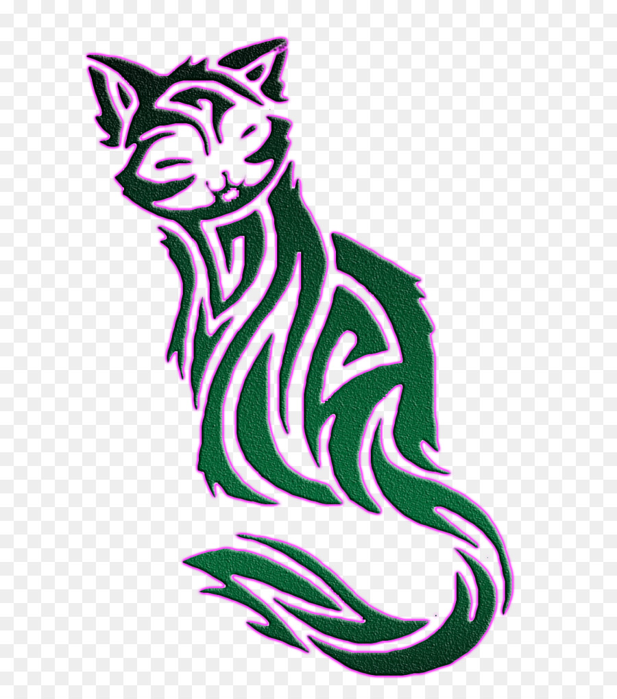 Maine Coon Exóticos de Pelo corto gato Siamés Gatito Cougar - tatoo ...