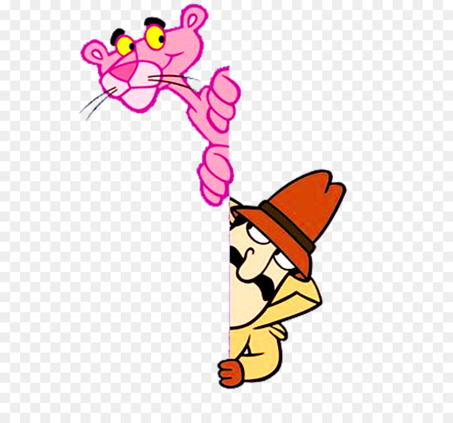 inspector clouseau the pink panther film cartoon pink cartoon png rh kisspng com pink panther cartoon clip art pink panther images clipart
