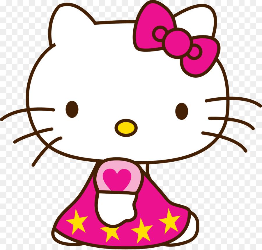 Hello Kitty Dibujo De Dibujos Animados De Color Del Personaje - hola ...