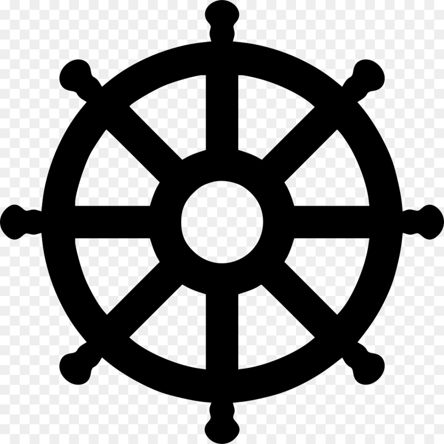 Computer Icons Dharmachakra Clip art - Wheel of Dharma png download ... for Dharmachakra Png  174mzq