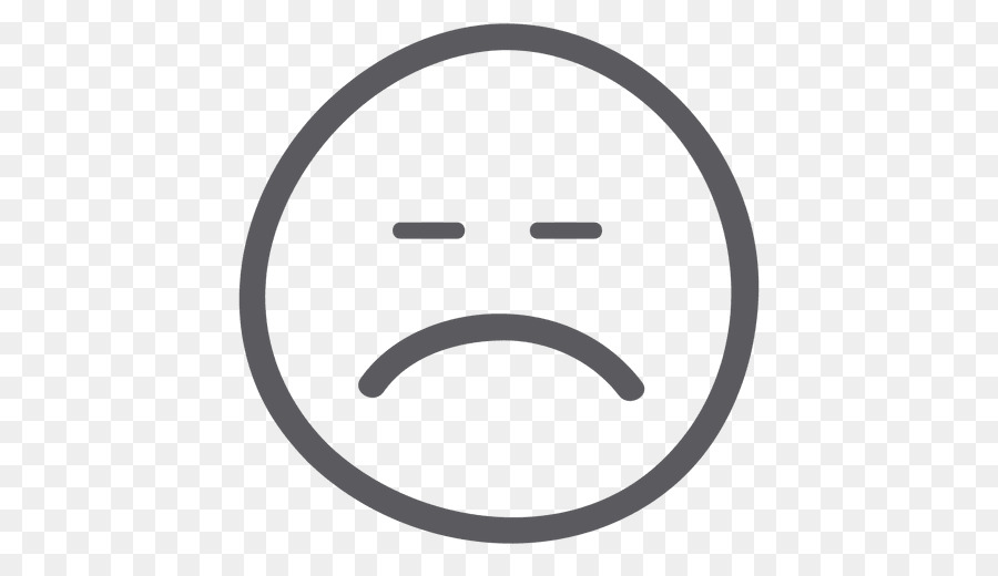 Smiley Face Emoticon Sadness Clip Art Sad Emoji Png Download 512