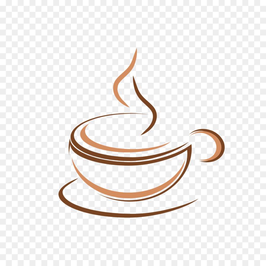 ร้านกาแฟโลโก้ร้านอาหาร Cappuccino 2000 2000 โปร่งใส Png