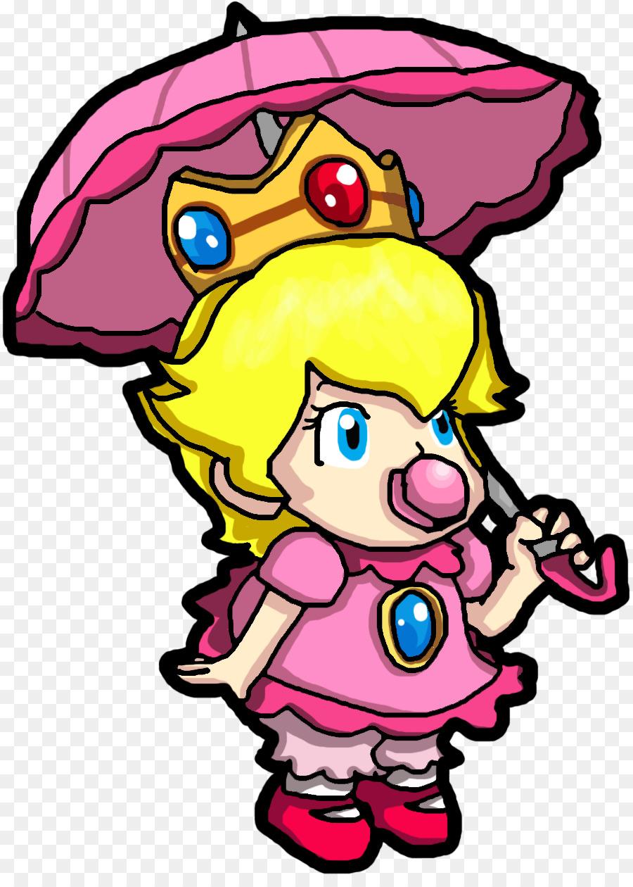 La princesa Peach la Princesa Daisy de Super Mario World 2: Yoshi\'s ...
