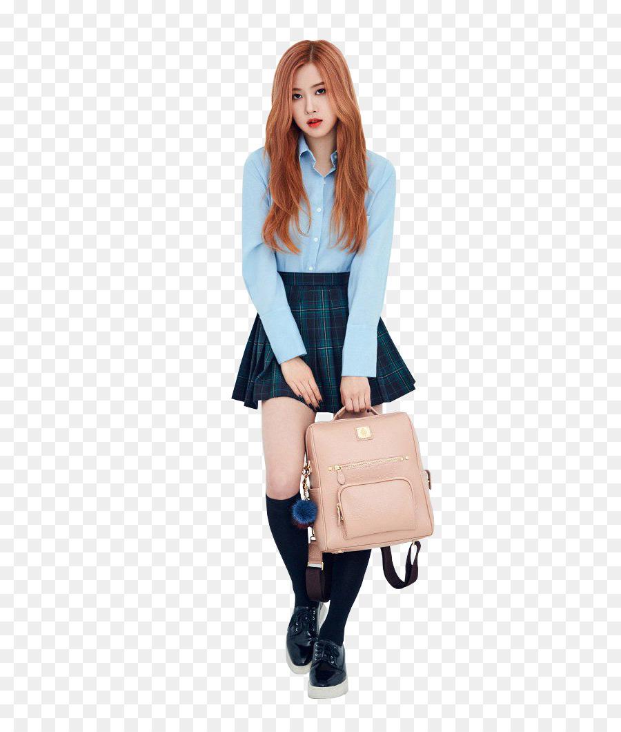Blackpink Rose K Pop Yg Entertainment Black Background Png
