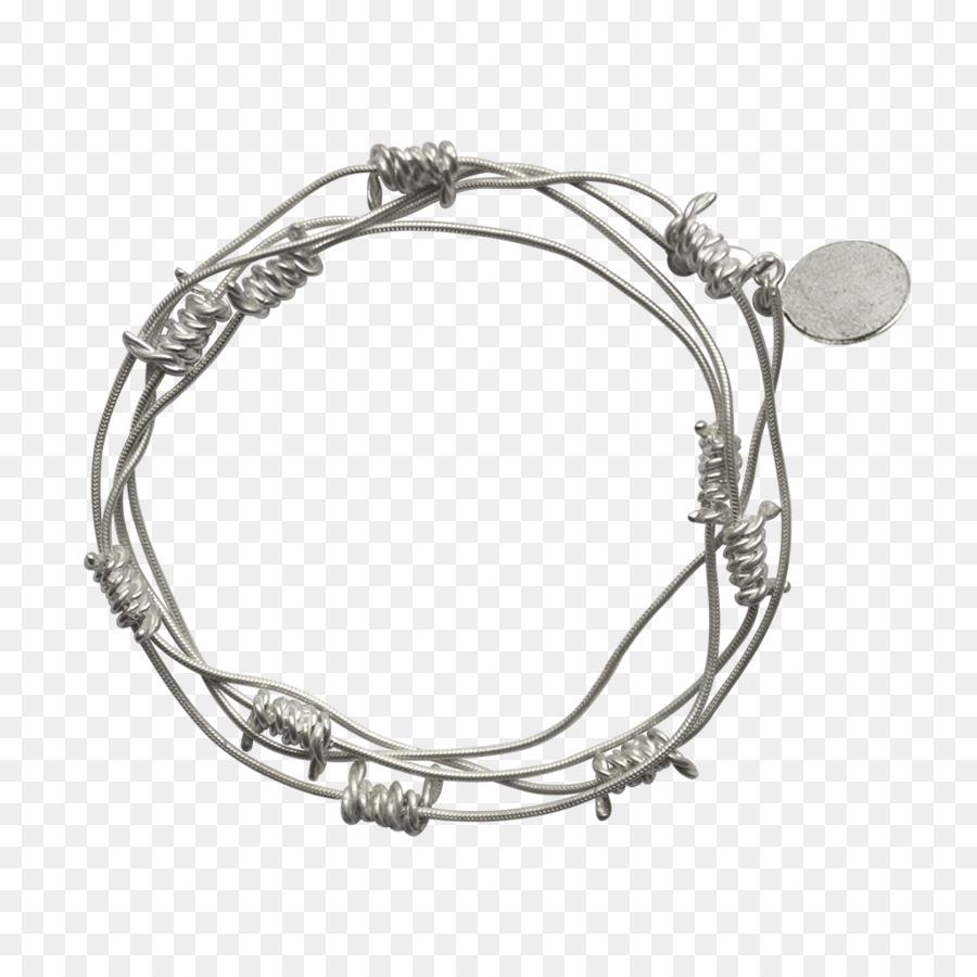 Metal Bracelet Barbed wire Jewellery - barbwire png download - 1024 ...