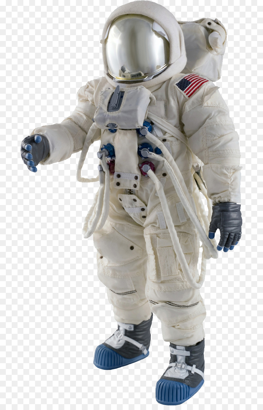 an astronaut in a space suit is motionless in outer space - photo #20