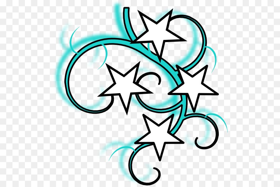 Drawing Star Clip Art Tattoo Png Download 564 595 Free