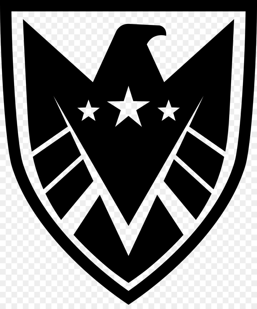 Shield Logo Marvel Cinematic Universe Decal Black Shield Png