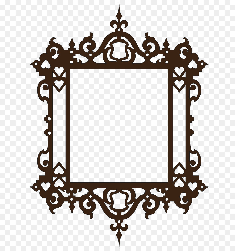 Picture Frames Window - fancy png download - 750*950 - Free ...