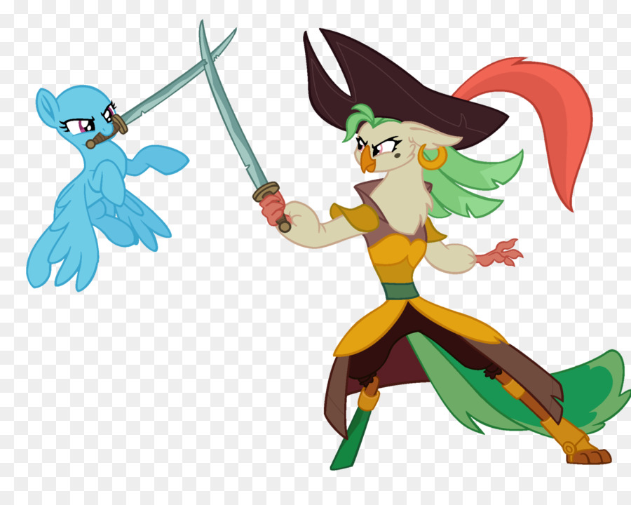 art my little pony youtube them s fightin herds pirate parrot png