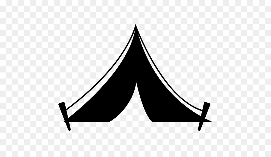 Tent Computer Icons Camping Clip art - building silhouette ... Butter Clipart Black And White