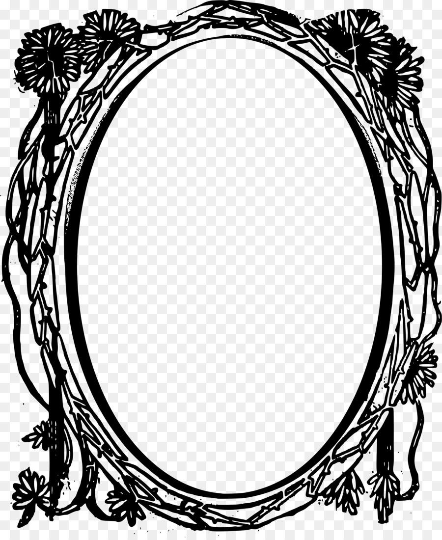 Marcos Círculo Espejo Clip art - marco del círculo png dibujo ...