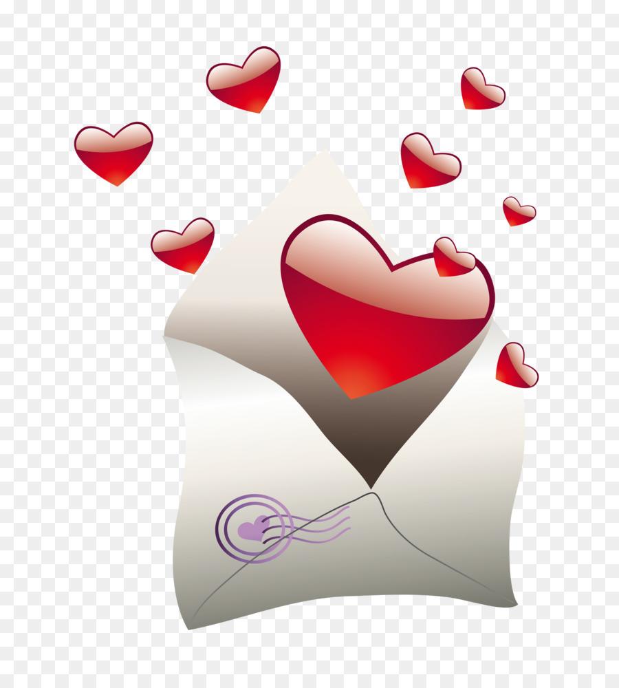 Valentine\'s Day Letter Wedding invitation Clip art - Valentines png ...