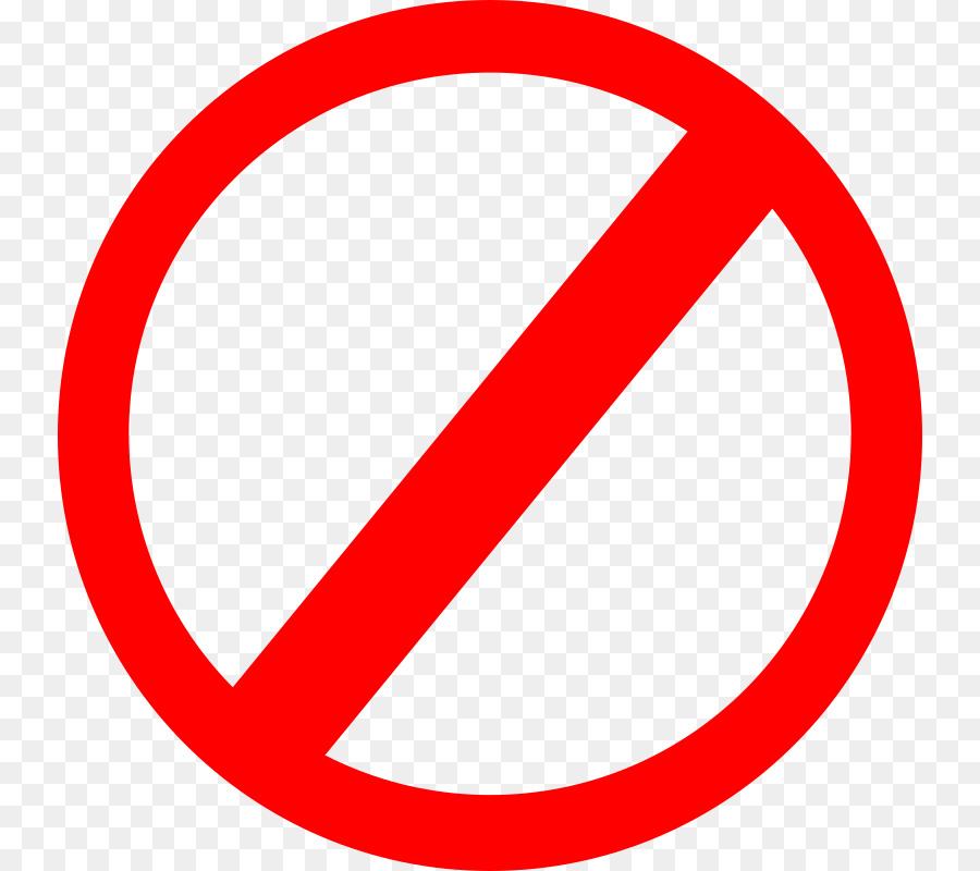 No Symbol Sign Clip Art Signs