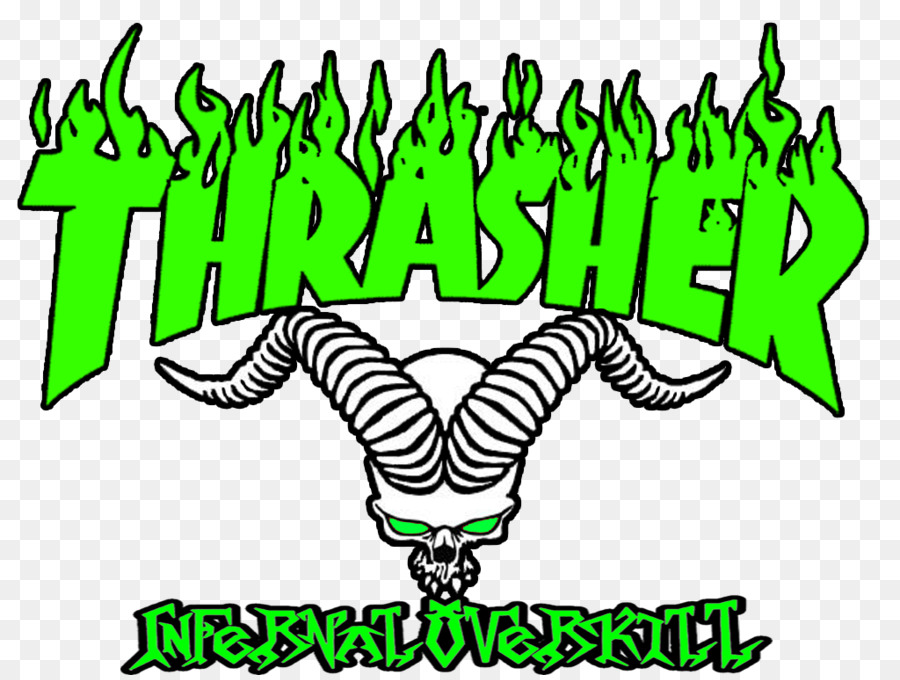 Thrasher Logo Magazine Skateboarding Wallpaper