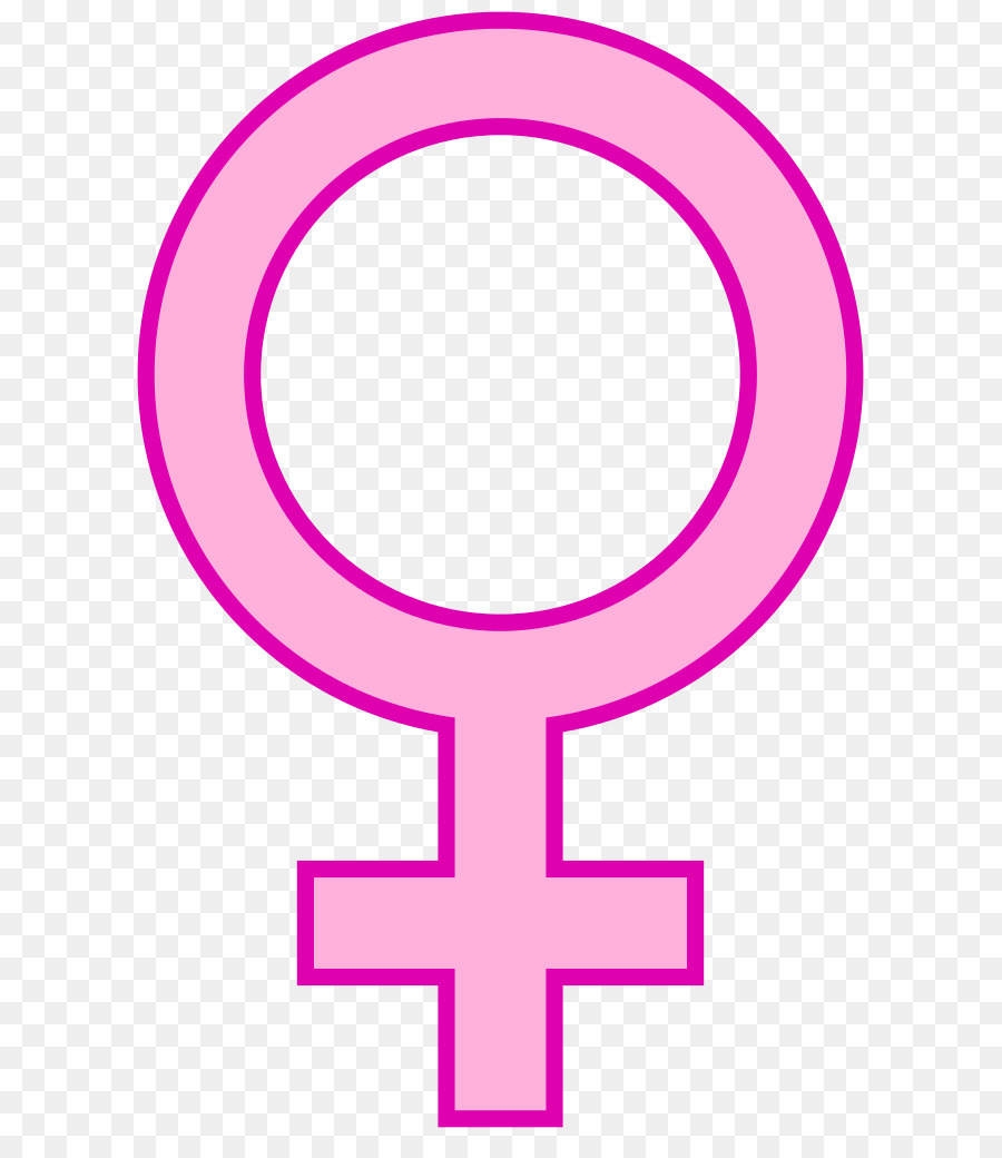 Gender Symbol Female Woman Clip Art Female Symbole Png Download