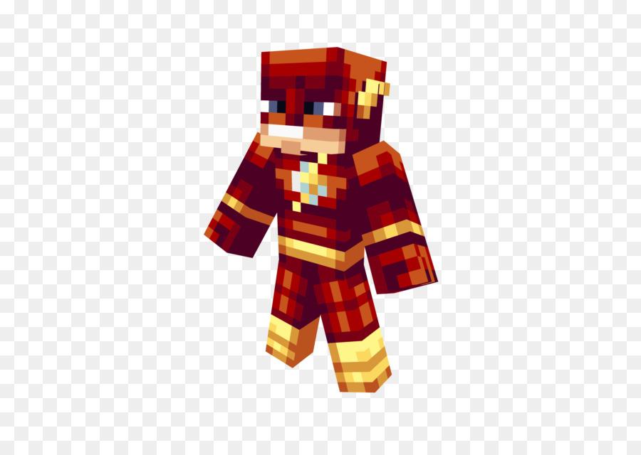 Minecraft Flash Design Animation Haut Png Herunterladen 640 640
