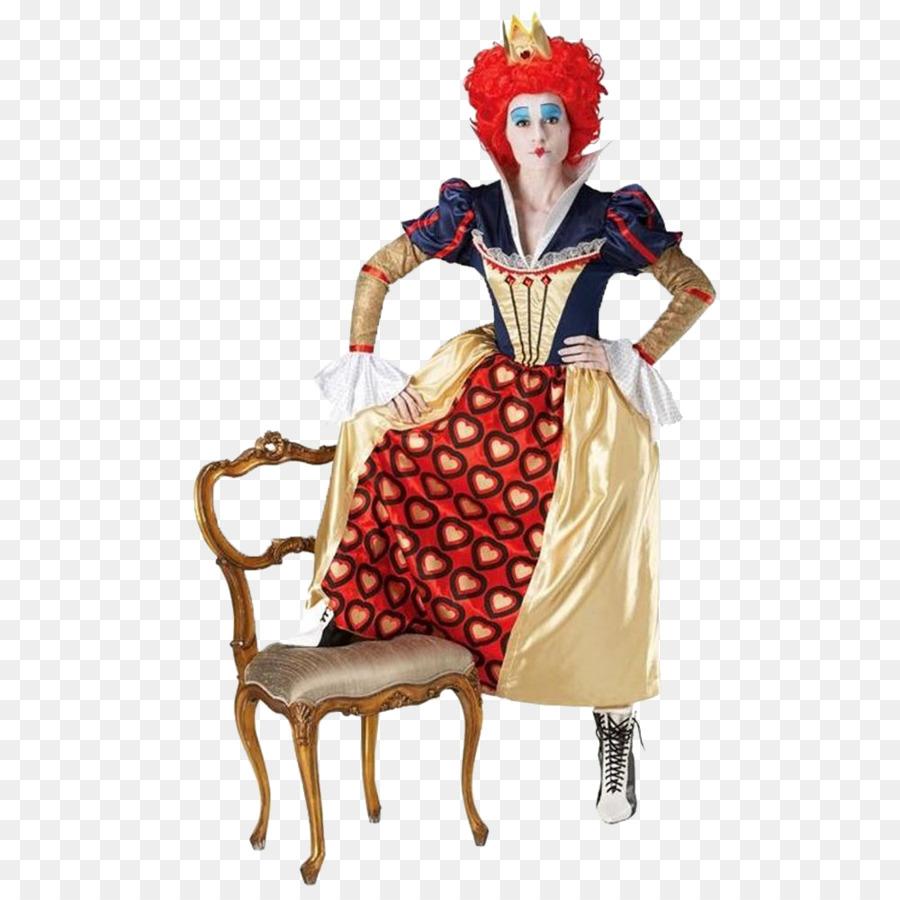 Red Queen Herzkönigin Den Hutmacher Alice Im Wunderland Kostüm