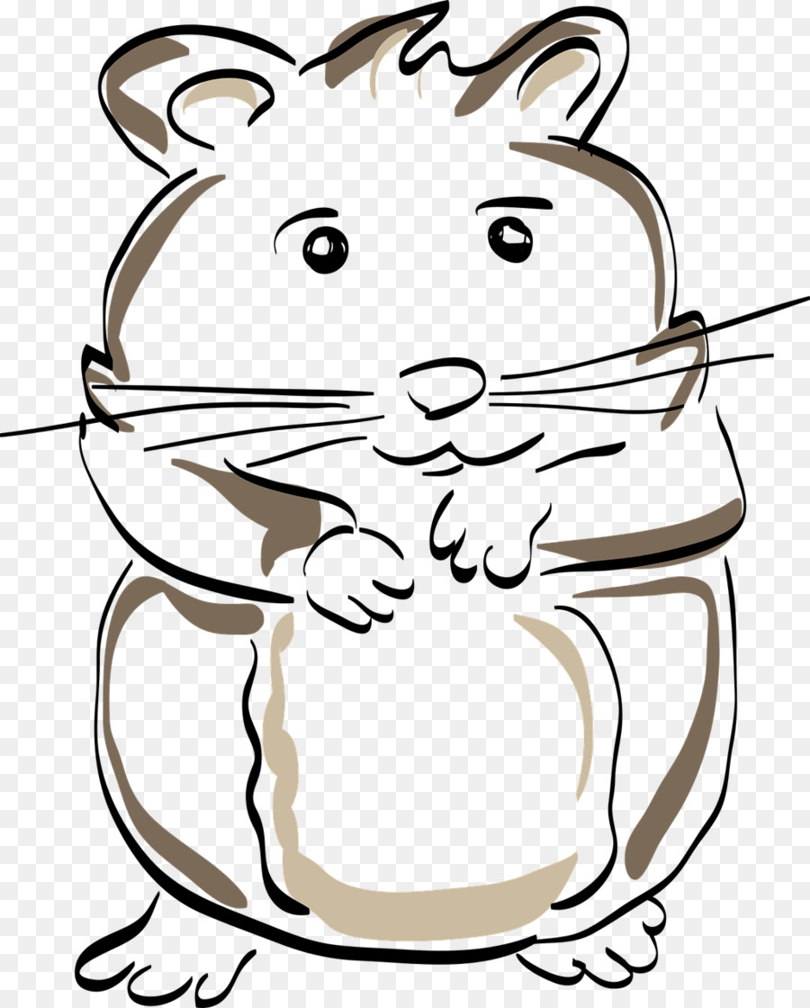 Hámster De Roedores Ratón El Dibujo De Gato - hamster Formatos De ...