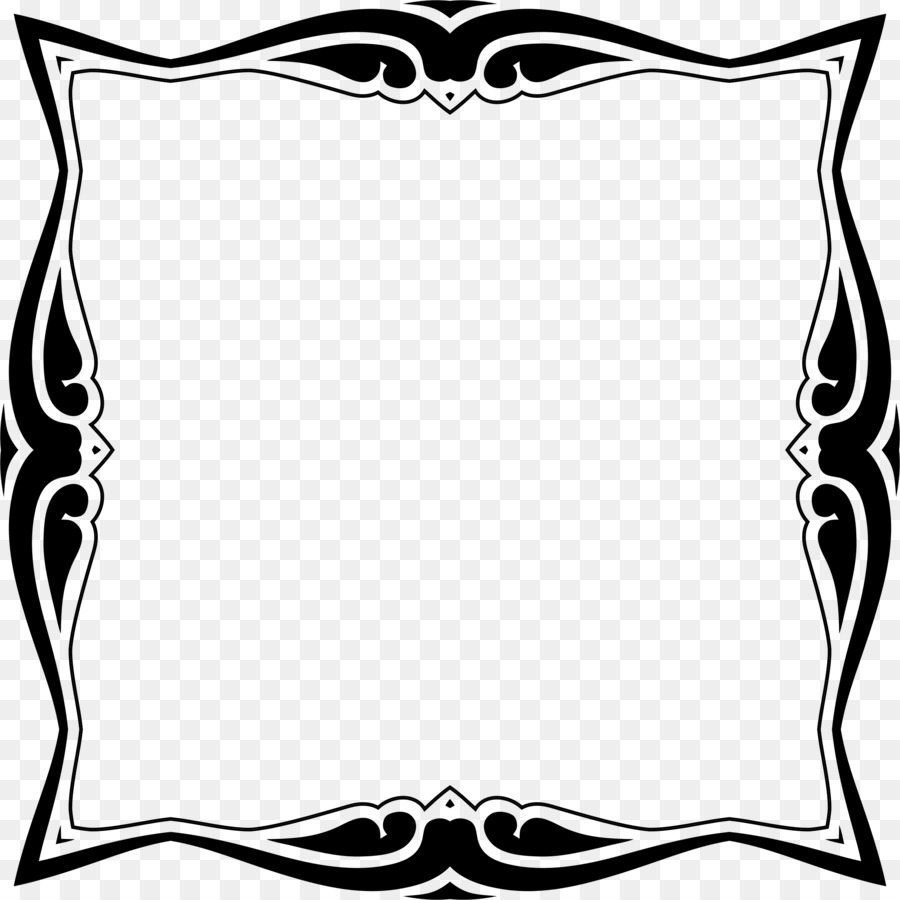 Decorative arts Picture Frames Clip art - decorative frame png ...