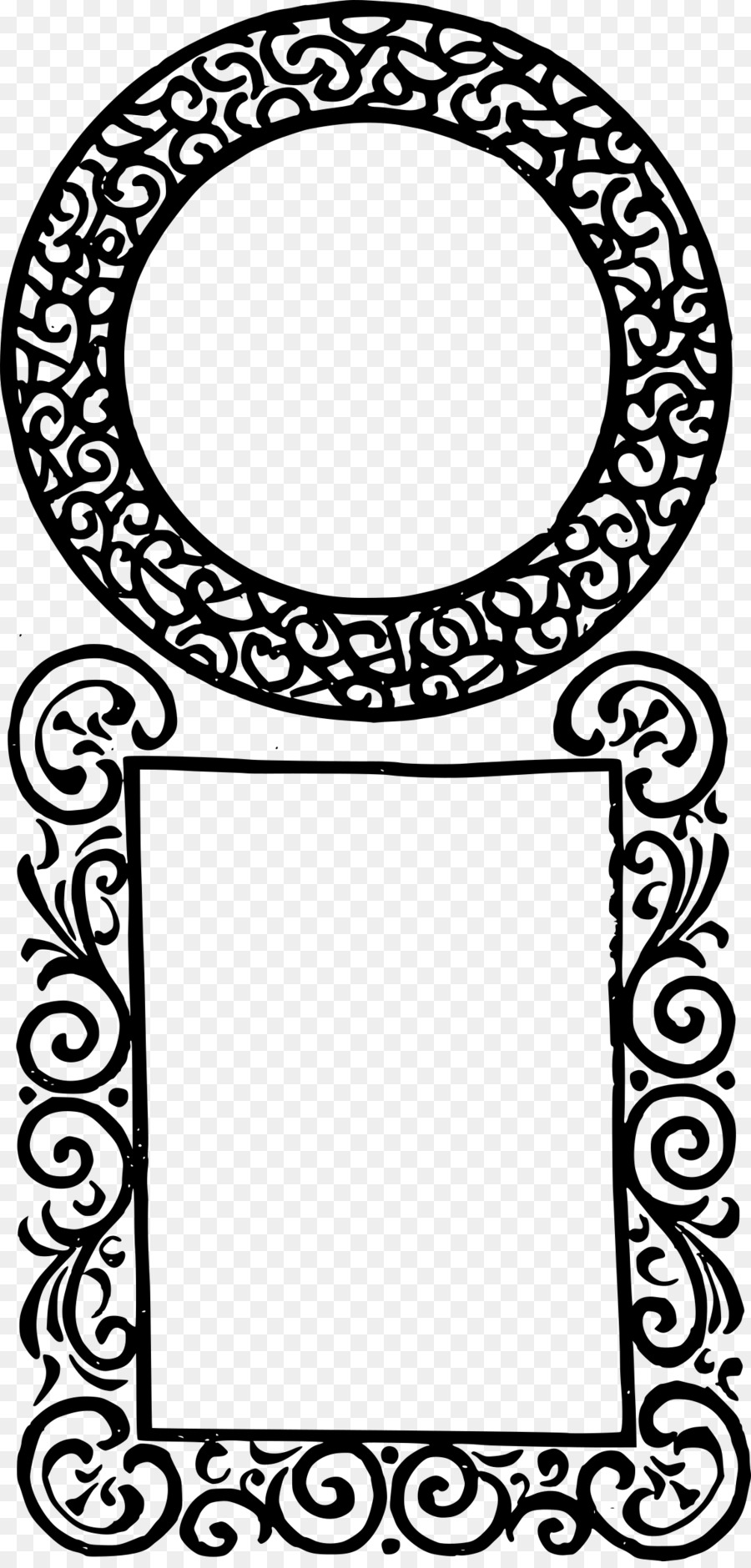 Picture Frames Square Clip art - islamic frame png download - 1154 ...