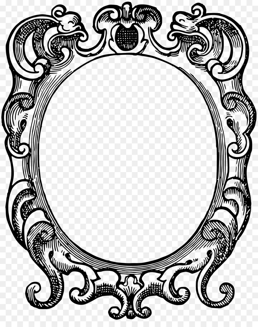 Picture Frames Clip art - ornate png download - 1928*2400 - Free ...