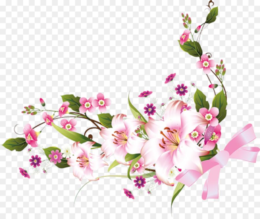 Picture Frames Flower Clip art - floral frame png download - 980*821 ...