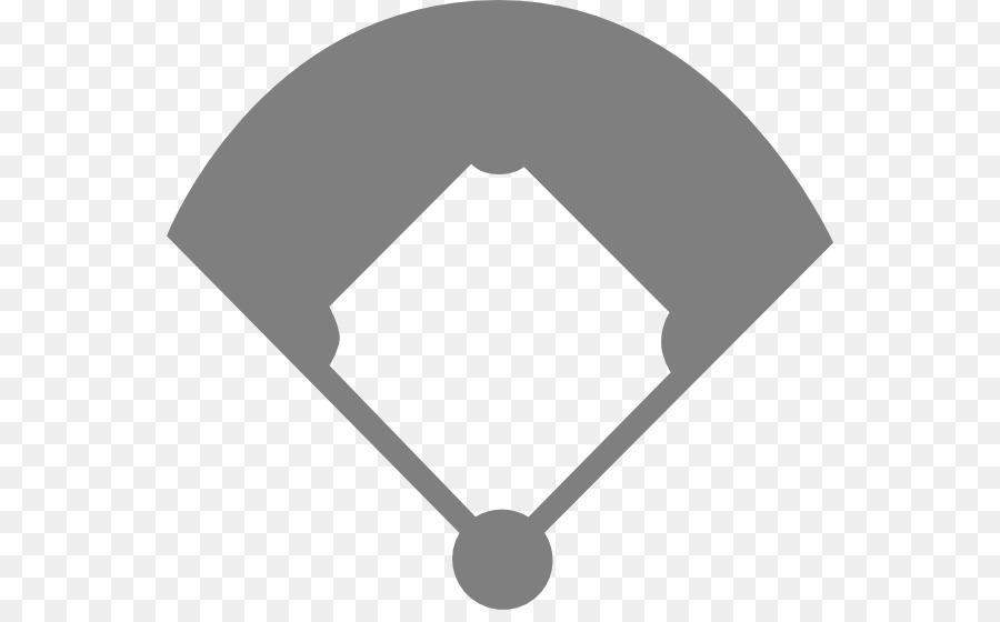 Campo de béisbol de la Bola de Diamante de Béisbol Clip art - En ...