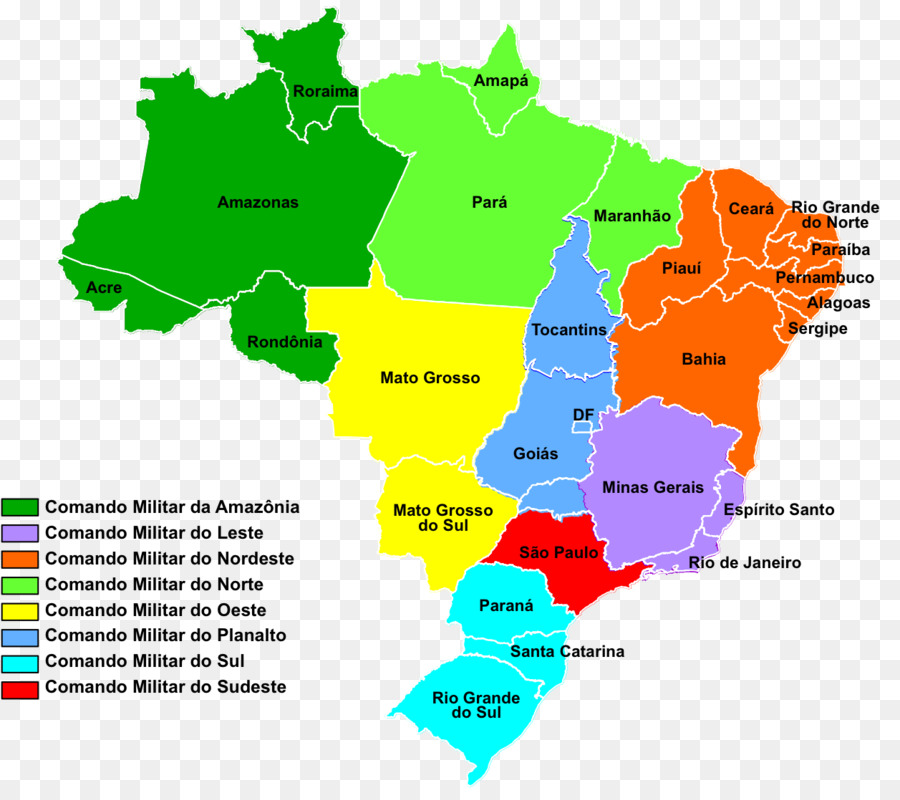 Regions of Brazil World map North Region, Brazil City map - brasil ...