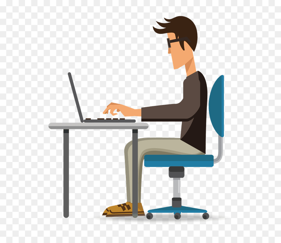 Bürostuhl comic  Laptop-Computer-Maus-clipart - Cartoon Computer png herunterladen ...