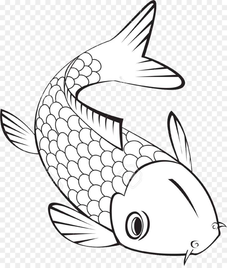 Koi libro para Colorear de peces Tropicales, peces de colores - los ...