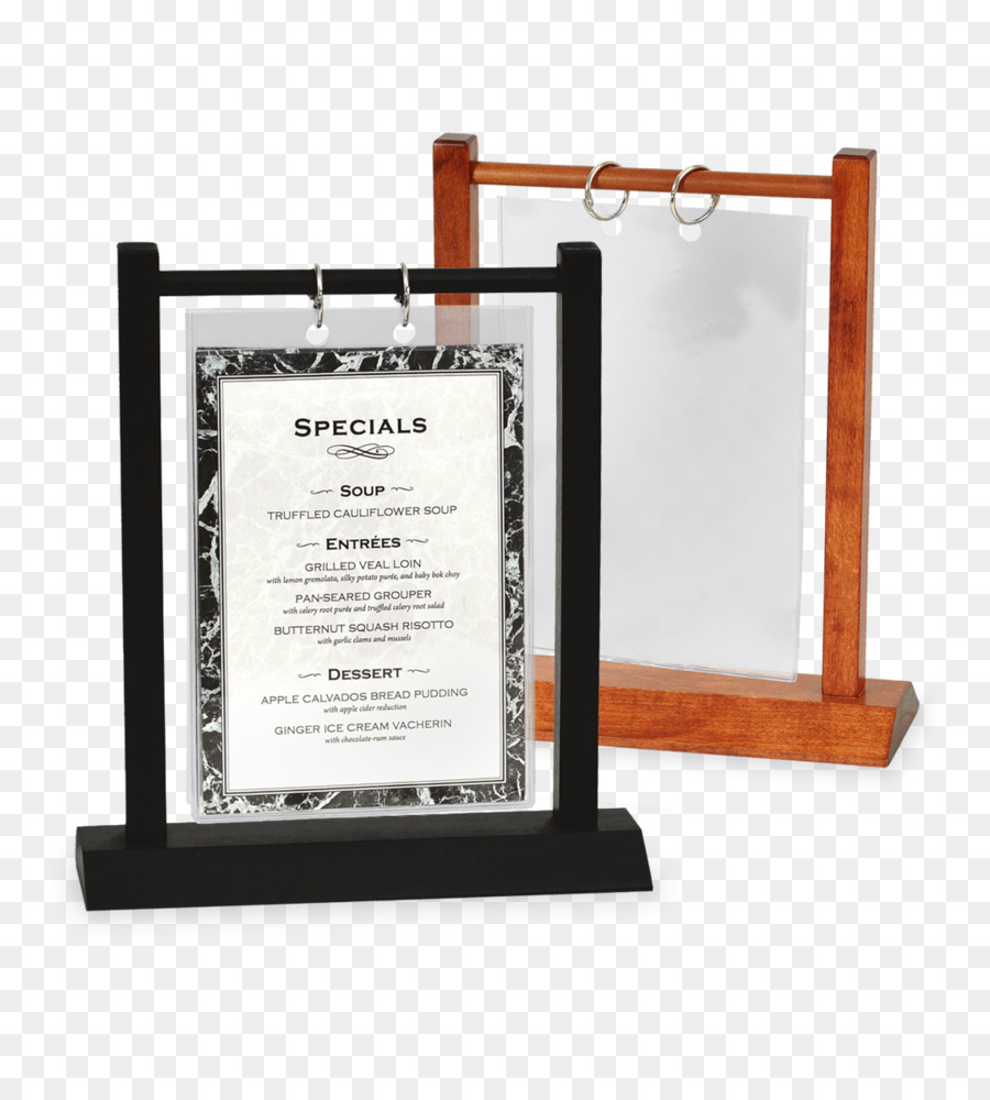 Menu Table Restaurant Cafe Bar Wood Table Png Download - Restaurant table cards
