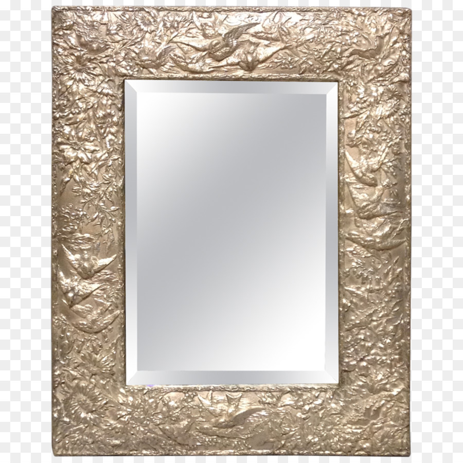 Table Mirror Picture Frames Furniture Decorative arts - silver png ...
