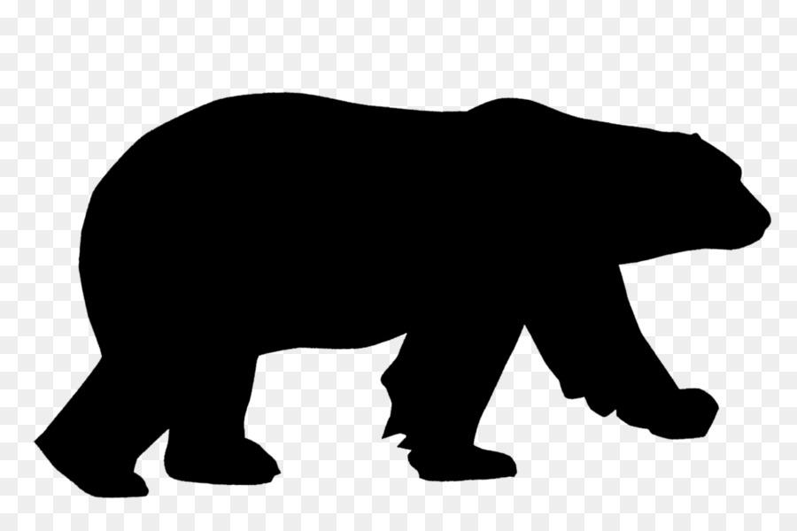 polar bear american black bear brown bear clip art animal rh kisspng com black bear clip art images black bear clip art free