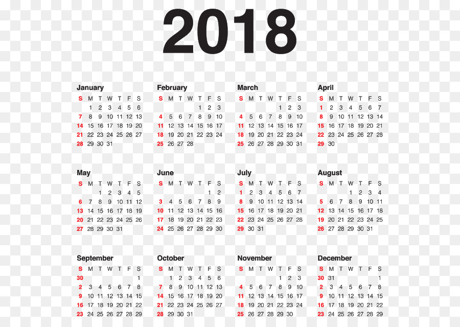 new year s day calendar new year s eve christmas calendar 2018 png