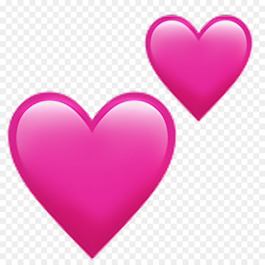 how to use love heart emoji on iphone