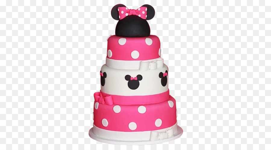 Minnie Mouse Birthday Cake Mickey Mouse Party First Birthday Png
