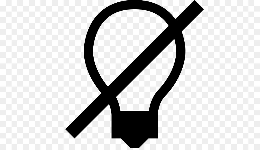 Incandescent Light Bulb Computer Icons Lighting Symbol On Off Png