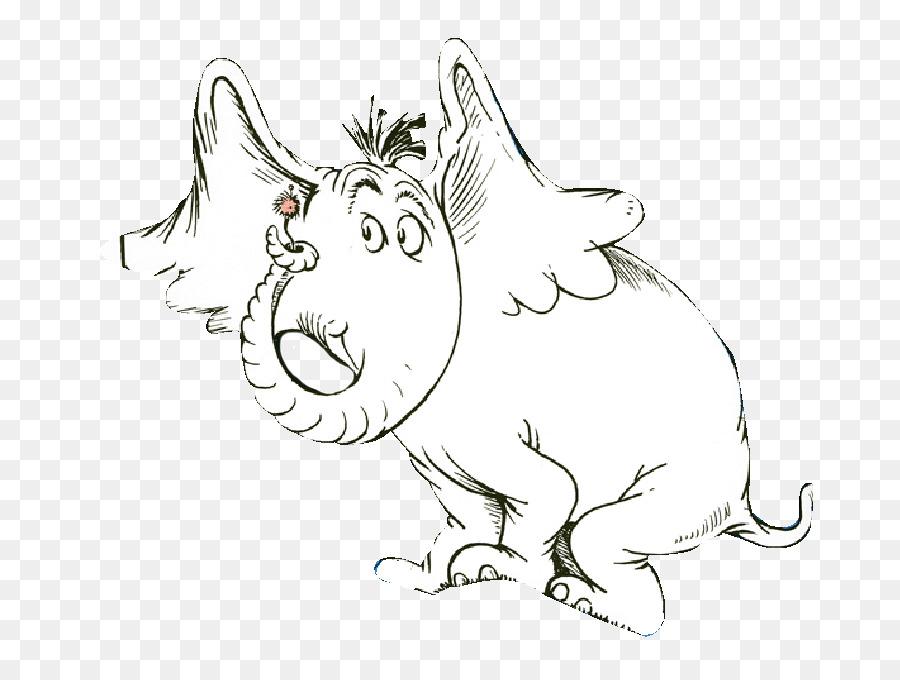 Horton Escucha a Quien! Dibujo de Elefante Clip art - el dr. seuss ...