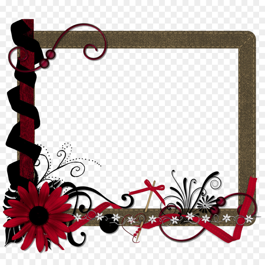 Picture Frames Photography Mat - red frame png download - 1500*1500 ...